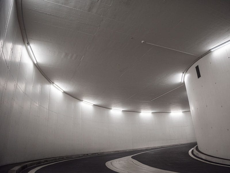 The Dolder Grand: Car park