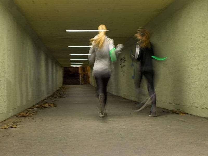 LEDCity : Le passage souterrain du Stauffacherquai est équipé de tubes LED semi-autonomes