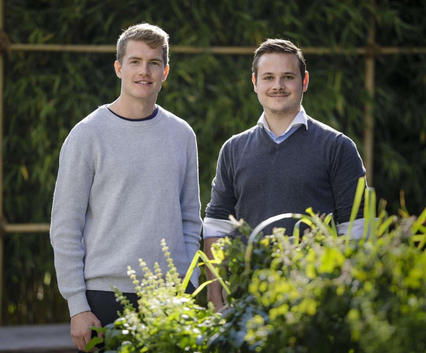 Vereinen Nachhaltigkeit und Erfolg: Patrik Deuss und Patrik Kuster von LEDCity