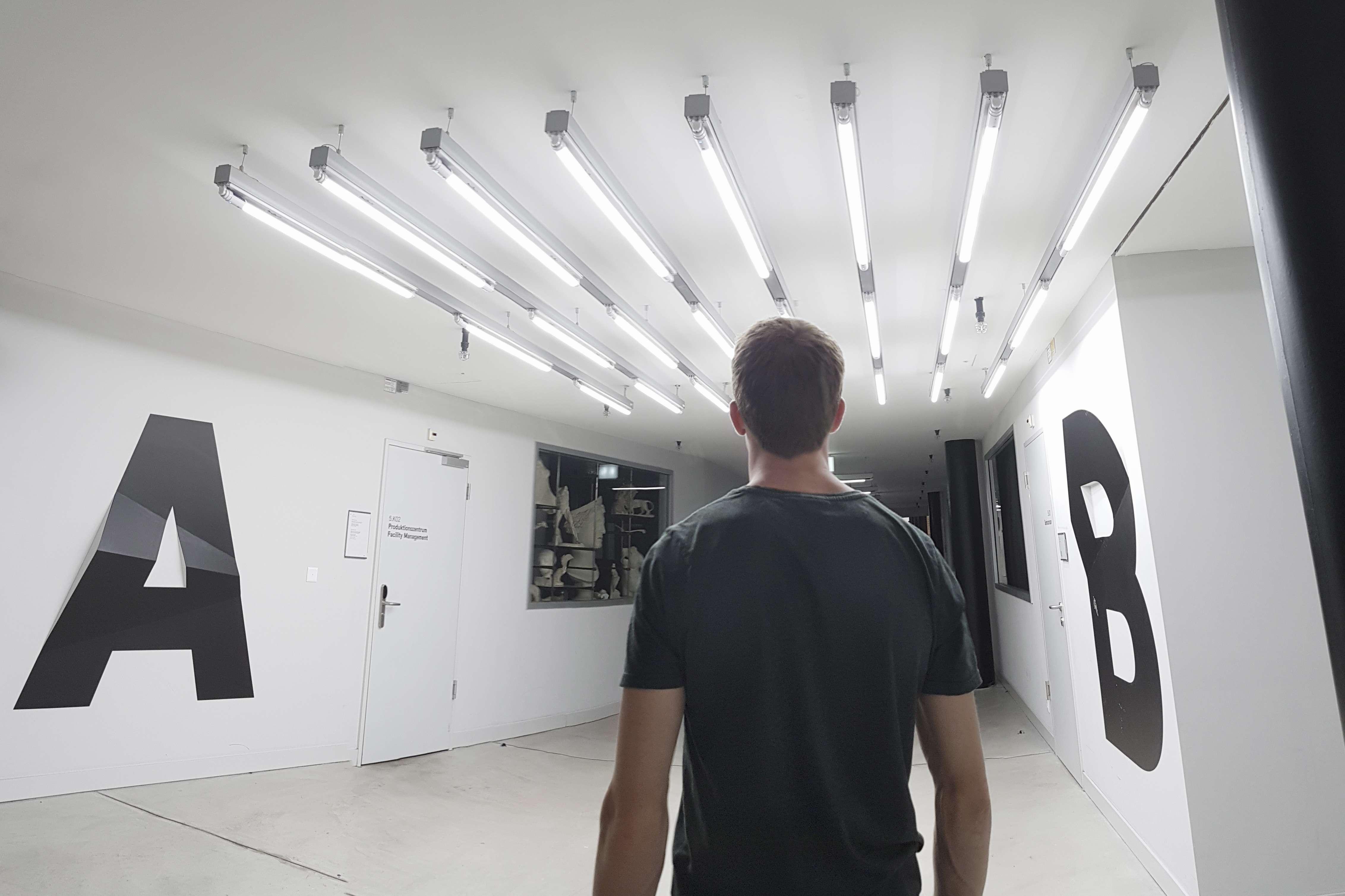 LEDCity-Beleuchtung in der ZHdK
