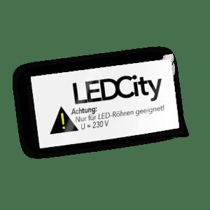 LEDCity Warnaufkleber