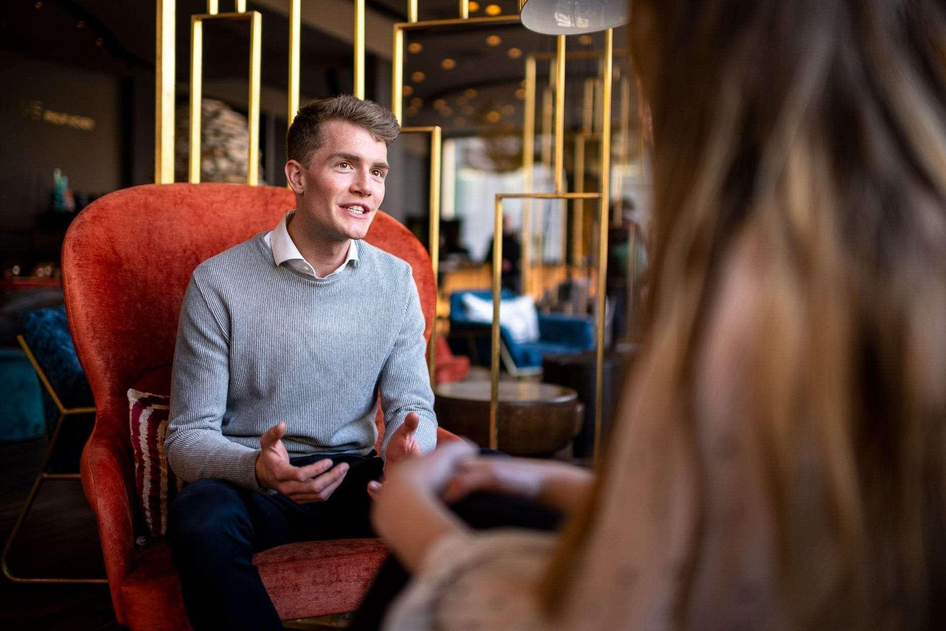 Patrik Deuss von LEDCity im Gespräch mit Startup Valley