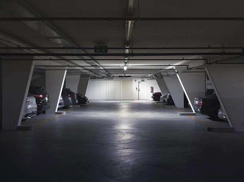 Parkhaus Gstühl City Baden mit LEDCity Notlicht