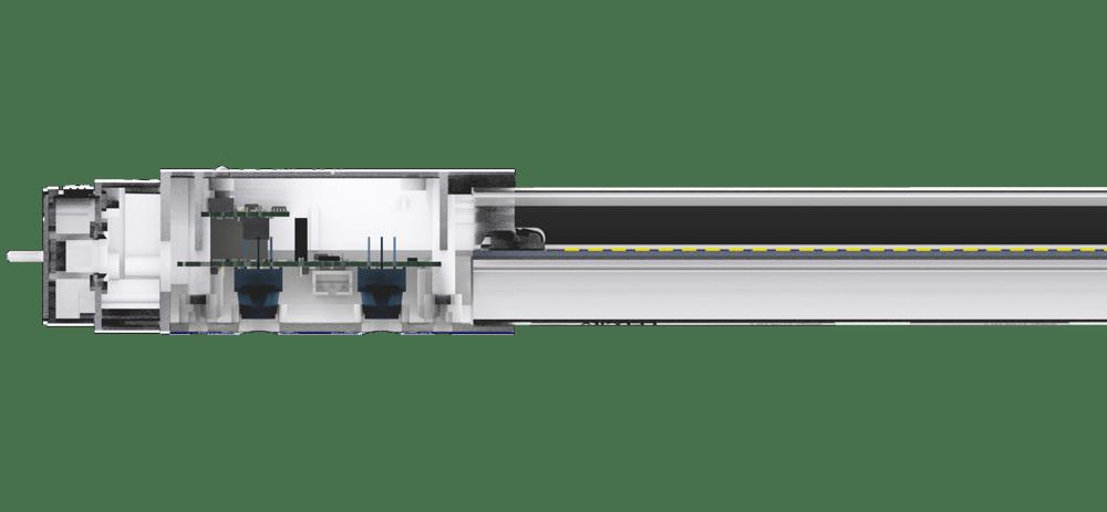 Querschnitt LEDCity-Röhre